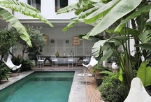 Outdoor living / Beautiful outdoor style and pools