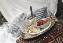 """LIFE'S A"""" PICNIC"""" / What could be better than the pure pleasure of a picnic?  If you like what you see you may pin freely. No limits or blocking ~ I SHARE my pins! / by Cheryl Brennan"""