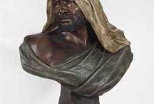 Goldschneider terracotta / Terracotta figures