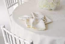 French Jacquard Francais Tablecloths / Le Jacquard Francais, Garnier Thiebaut, Beauville French tablecloth and napkins sets are the finest offered.