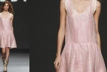 Croisette  SS12 / Esta mujer Helbig luce volátiles mini-vestidos coronados con sofisticados botines, abrigos de verano y pantalones de ante. Una propuesta valiente, arriesgada, sofisticada en formas y colores pero fiel al estilo Helbig, un tributo a la artesania y la calidad. Spring Summer 2012  Teresa Helbig  Catwalk Cibeles Madrid Fashion Week https://vimeo.com/36471214
