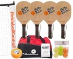 Pickleball Sets / Lots of great pickleball sets to choose from, including wood or graphite paddles.