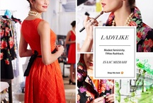 Spring Trend: Ladylike / Retro & refined.  Golden oldies.