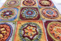 CAL Crochet blocks