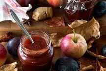 jam, vruchten groenten en dranken