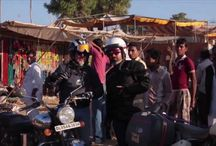 Rajasthan-The country of Maharaja motorcycle expedition. / While the Himalayas will offer an off-road and highly adventurous ride, especially in summer, Rajasthan, at its best in the colder seasons, is more sumptuous and mellow for its historical marvels, for the versatility of rajasthani culture and architecture - blend of the Rajput's creativity and Moghul's influence - and for its destinations.