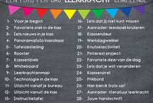 #tns16 'Terug naar School 2016'-challenge / Doe je ook mee? Foto-challenge voor leerkrachten! Delen =  #tns16