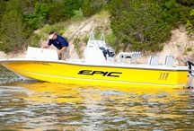 Epic 22SC Sport Console / Introducing the 22sc Sport Console- the Bay Boat built to get you anywhere.