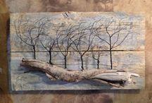 δημιουργειες με ξυλο