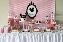 Minnie Mouse Party / Ideas for Caitlin's Birthday