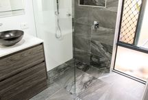 Grey Bathrooms / This album is a selection of Grey Bathrooms completed by On the Ball Bathrooms in Perth, Western Australia. Grey Bathrooms Perth - Grey Bathroom Ideas - Grey Wetrooms