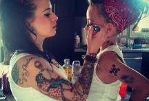 tattooed pinups