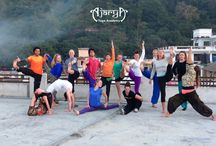 Hatha Yoga / Our 200 hour Hatha Yoga Teacher Trainings help you gain a thorough understanding and practice of ALL the elements of Yoga, as encompassed in the Hatha Yoga Pradapika.  The aim is to cultivate expertise in traditional Hatha Yoga to the extent possible