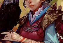 Fantasy Genre Art / Could be manga style as well as concept design and others / by Recep Senol