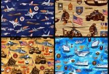 Honoring Our Military in Fabric / Patriotic and Military Fabric