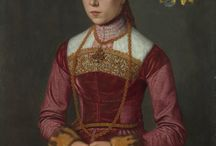 1560s Pink Neufchâtel Gown Inspirations