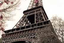 Paris-Why I love it! / I love Paris, everything about it. These are my visions of Paris / by Lizz Morgan