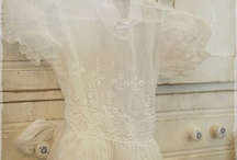 Old lace dresses...