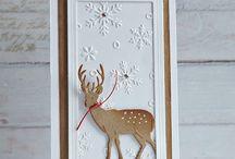 Christmas cards - Reindeers