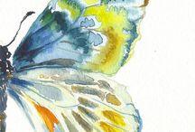 malba motyli