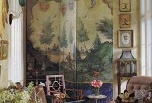 Vintage chic interiors