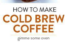 cold brew Kaffee / Eine weitere Möglichkeit Kaffee zu genießen. Cold brew, alles andere als kalter Kaffee, sondern das perfekte Getränk für den Sommer.