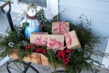 outdoor decor for Christmas / by John-Kim Grine