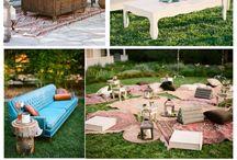 lounge chill wedding