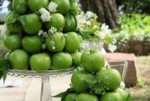jabłko dekoracja