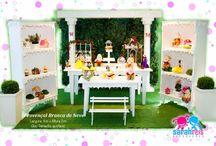 Mesa Provençal / Transforme a decoraçoa da sua festa inesquecivel com uma mesa decorativa Provençal.