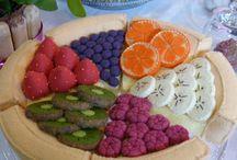 fruit et légumes en tissu