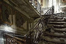 abandoned beauties and stairs