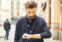 La mode au masculin / Qui a dit que les hommes n'avaient pas le droit de bien s'habiller? Ici vous trouverez les tendances hommes et surtout les belles montres pour ces messieurs.