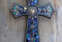 Mosaic crosses