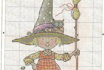 cross Stitch   witch