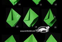Origami / Fold and make ! Simple !