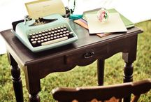 Writing desk / Wedding hire