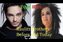 TOKIO HOTEL BILL & TOM Kaulitz Brothers