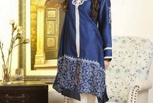 Pakistani Winter Fall Dresses