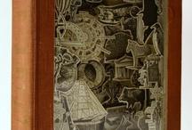 Altered Books Inspirations / Altered Books