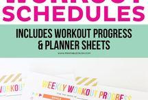 printables for organized life