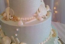 beachy wedding cakes