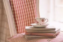 Decorating.. red gingham