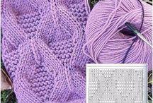 diagrame tricotaje