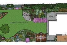 Inspiracje ogrodowe / całe ogrody