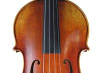 Baritone and Octave Violins, Fiddles and Violas / Violins, fiddles and violas that are specially made to play lower pitches than normal violins, fiddles and violas