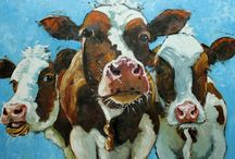 I love cows... / by Linda Jodoin