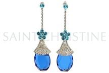 Crystal Earrings / by saint christine