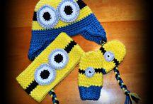 crochet accessories / Voici quelques une de mes creations au crochet!