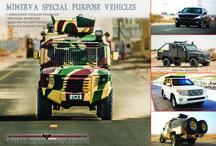 Armored Vehicles / MSPV, world's premier armored car manufacturer has lined up an augmented version of the SUVs. www.mspv.com
